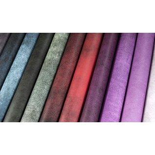 Craft Consortium Papierset, grunge, donkere felle kleuren, 40 dubbelzijdige vellen, 20 ontwerpen, 180 gsm cardstock