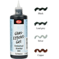 Viva Decor Gel met glaseffect, universele contour, zwart, Viva Decor, 82 ml