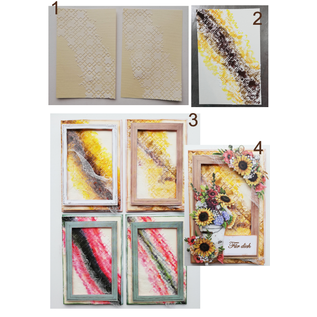 HCP A beautiful flower collection! 3 sheets, 30.5 x 30.5 cm