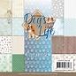 AMY DESIGN Designerblock, Papierblock, Dog´s Live, 23 Blatt, 170gsm