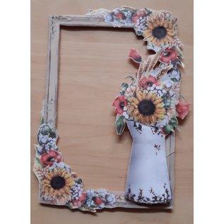 Eine wunderschöne Blumen Kollektion! 3 Bögen, 30,5 x 30,5 cm