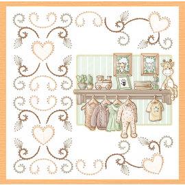 Stanzbogen, A4, Yvonne Creations - Newborn - Baby