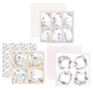 Karten und Scrapbooking Papier, Papier blöcke Designerpapier, Kollekion, LOve Garden, 3 Bögen 30,5 x 30,5 cm