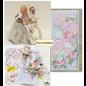 HCP Sweety Collection, 4 plakboek- en kaartpapieren, 30,5 x 30,5 cm, 4 vellen!