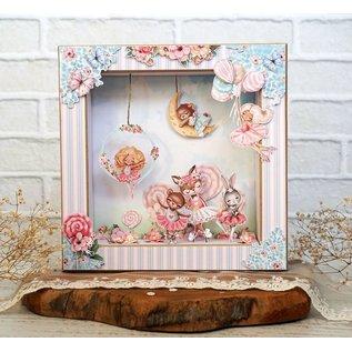 Karten und Scrapbooking Papier, Papier blöcke Designblok, paperpad, 20,3 x 20,3 cm, sweety