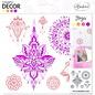ALADINE Aladine decor foam stempel, yoga design
