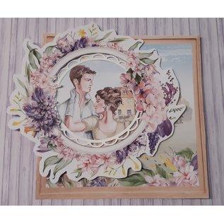 Karten und Scrapbooking Papier, Papier blöcke Designpapier, collectie, Love Garden, 3 vellen 30,5 x 30,5 cm