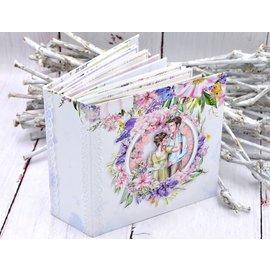 Hermoso juego de papel, 20,3 x 20,3 cm, 12 impresos por ambos lados, 190 g / m2
