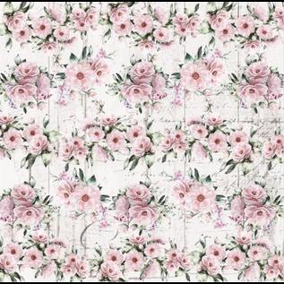 HCP Papierset, 20,3 x 20,3 cm, Dreamgarden, 24 vellen! dubbelzijdig bedrukt, 190 g/m²