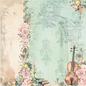 HCP Papierset, 15,5 x 15,5 cm, Victorian Home, 24 vellen! dubbelzijdig bedrukt, 190 g/m²
