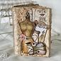 HCP Papierblok, Sewing Love, 15,2 x 15,2 cm, 24 dubbelzijdig bedrukt, 190 gsm