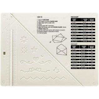 EK Succes, Martha Stewart Creative score board + Stanzer, Werkzeug um Umschläge, Karten und Schachtlen  usw.  zu erstellen