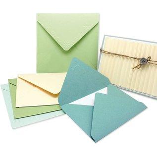 EK Succes, Martha Stewart Tablero de puntuación creativo + perforador, herramienta para crear sobres, tarjetas y cajas, etc.