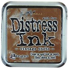 Distress Ink, Vintage Photo, Ranger, stempelkussen, 8 x 8 cm,