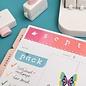 MASCHINE und ZUBEHÖR We R Memory Keepers • Woordponsbord kleine letters