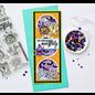 Stempel / Stamp: Transparent Transparant / transparant stempelmotief, schattige monsters