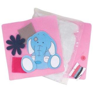 Kinder Bastelsets / Kids Craft Kits Tatty Teddy, knutselset, vilten kussen, 25 x 25 cm, Me to You ,,