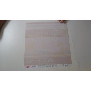 Designer Papier Scrapbooking: 30,5 x 30,5 cm Papier Designerpapier, set van 5 vellen, 30,5 x 30,5 cm, 140 g/m²