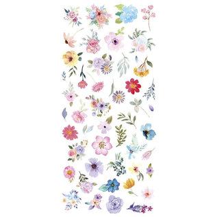 Mintay und Ciao Bella 48 Blumen Cardstock, Verzierungen, 240 gsm