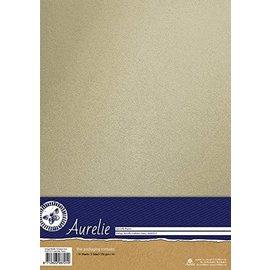 AURELIE Metallic kaart, 10 vellen, vintage metallic kaart, wit, 250gsm, A4-formaat, - Copy