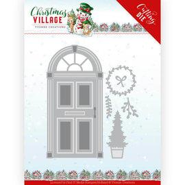 Yvonne Creations Plantillas de corte, puerta, Navidad