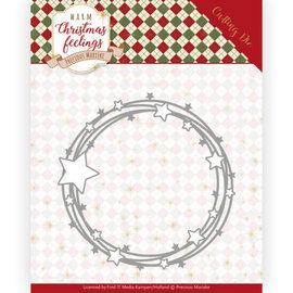Precious Marieke Skærestensiler, jul, størrelse ca.: 10,5 x 10,5 cm.