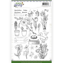 AMY DESIGN Stempel SET, Transparent Stempel, Format: A5,