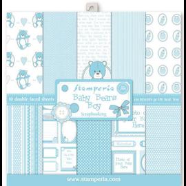 Designer Papier Scrapbooking: 30,5 x 30,5 cm Papier Carta di design, 10 fogli, stampata su entrambi i lati, bambino