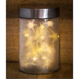 Stars foils, 18 x 18cm, 5 pieces, effect foils stars,