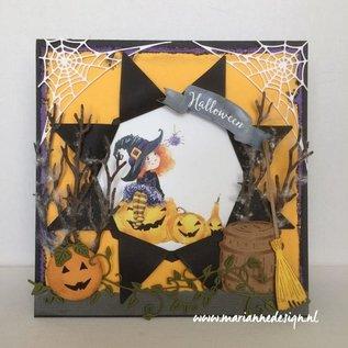 Bilder, 3D Bilder und ausgestanzte Teile usw... A4 knipvel, Halloween