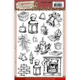 AMY DESIGN Transparant stempelformaat 14,8 x 21 cm, Kerstmis
