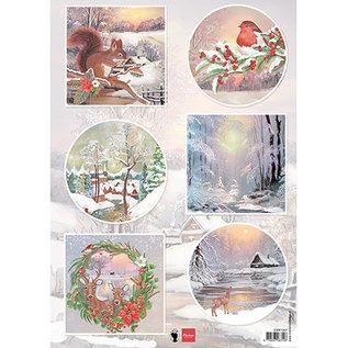 Marianne Design Fotoblad, A4, wintermotieven