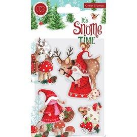 Stempelmotiv, Gnome, Weihnachten, Transparent, A6 Format