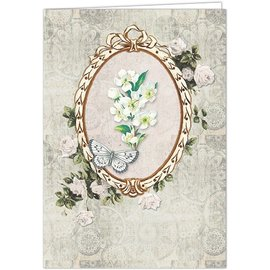 BASTELSETS / CRAFT KITS Card craft set for the design of 10 beautiful cards, for various occasions