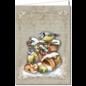 BASTELSETS / CRAFT KITS Card craft set for the design of 8 wonderful, idyllic winter and Christmas cards!