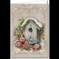 BASTELSETS / CRAFT KITS Kaartenset voor het ontwerpen van 8 prachtige, idyllische winter- en kerstkaarten!
