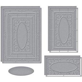 Stanzschablonen, Zierrahmen Fenster, Spellbinders, S6-171, Papierbasteln,