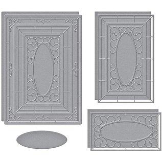 snijmallen, Spellbinders,  Wistful Window, S6-171, papier knutselen,