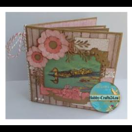Joy!Crafts / Jeanine´s Art, Hobby Solutions Dies /  Kraftpapier, 10 kaarten, 10 enveloppen, 16 x 16 cm en 17 x 17 cm