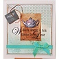 """GRAPHIC 45 Rubber Stamp, """"Botanische Tea"""""""