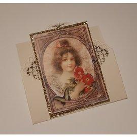 REDDY 10 ark! Kartonmikrobølgeovn, 230 g./qm, A4-format, glitterguld