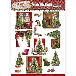 Amy Design 3D Push Out - Amy Design - Geschiedenis van Kerstmis - Kersthuis
