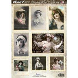 Studio Light A4 stansvel met 8 romantische portretten,