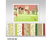 Basteln mit Papier: Spezial Papier, Glitzer und metallic Karton