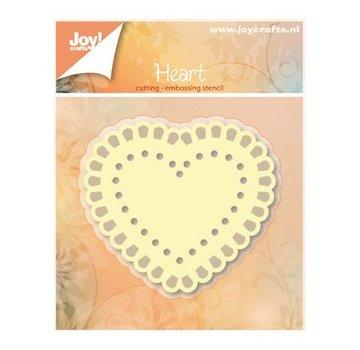 Joy!Crafts / Jeanine´s Art, Hobby Solutions Dies /  Ponsen en embossing sjablonen: Heart