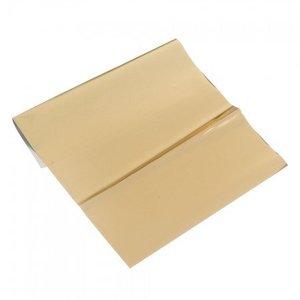BASTELZUBEHÖR, WERKZEUG UND AUFBEWAHRUNG Metallic foil, 200 x 300 mm, 1 sheet, gold