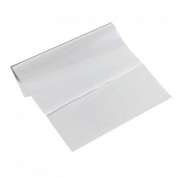 BASTELZUBEHÖR, WERKZEUG UND AUFBEWAHRUNG Metallic foil 200 x 300 mm, 1 sheet, silver-