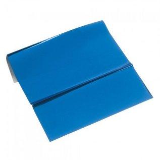 BASTELZUBEHÖR, WERKZEUG UND AUFBEWAHRUNG Metallfolie, 200 x 300 mm, en plate, blå