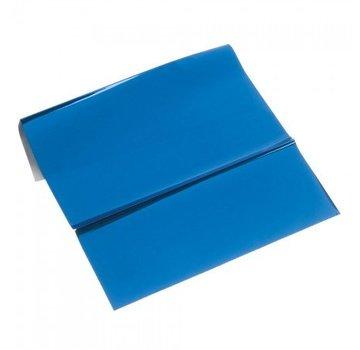 BASTELZUBEHÖR, WERKZEUG UND AUFBEWAHRUNG Metallic foil, 200 x 300 mm, 1 sheet, blue
