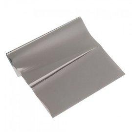 BASTELZUBEHÖR, WERKZEUG UND AUFBEWAHRUNG Metallic-Folie, 200 x 300 mm, 1 Blatt, anthrazit